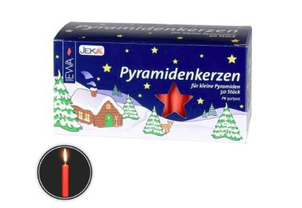 Candles for Pyramid Red Short