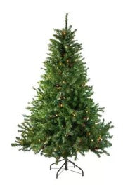 4' Catalina Spruce Tree PRELIT MULTICOLOR