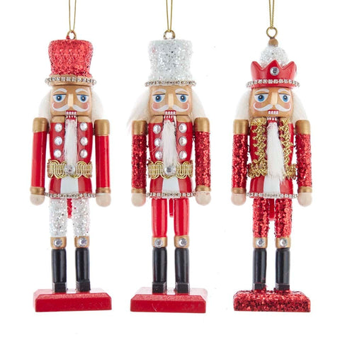 Assorted Nutcracker Ornaments, INDIVIDUALLY SOLD