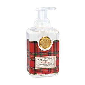 Michel Design Works Foaming Soap: Tartan