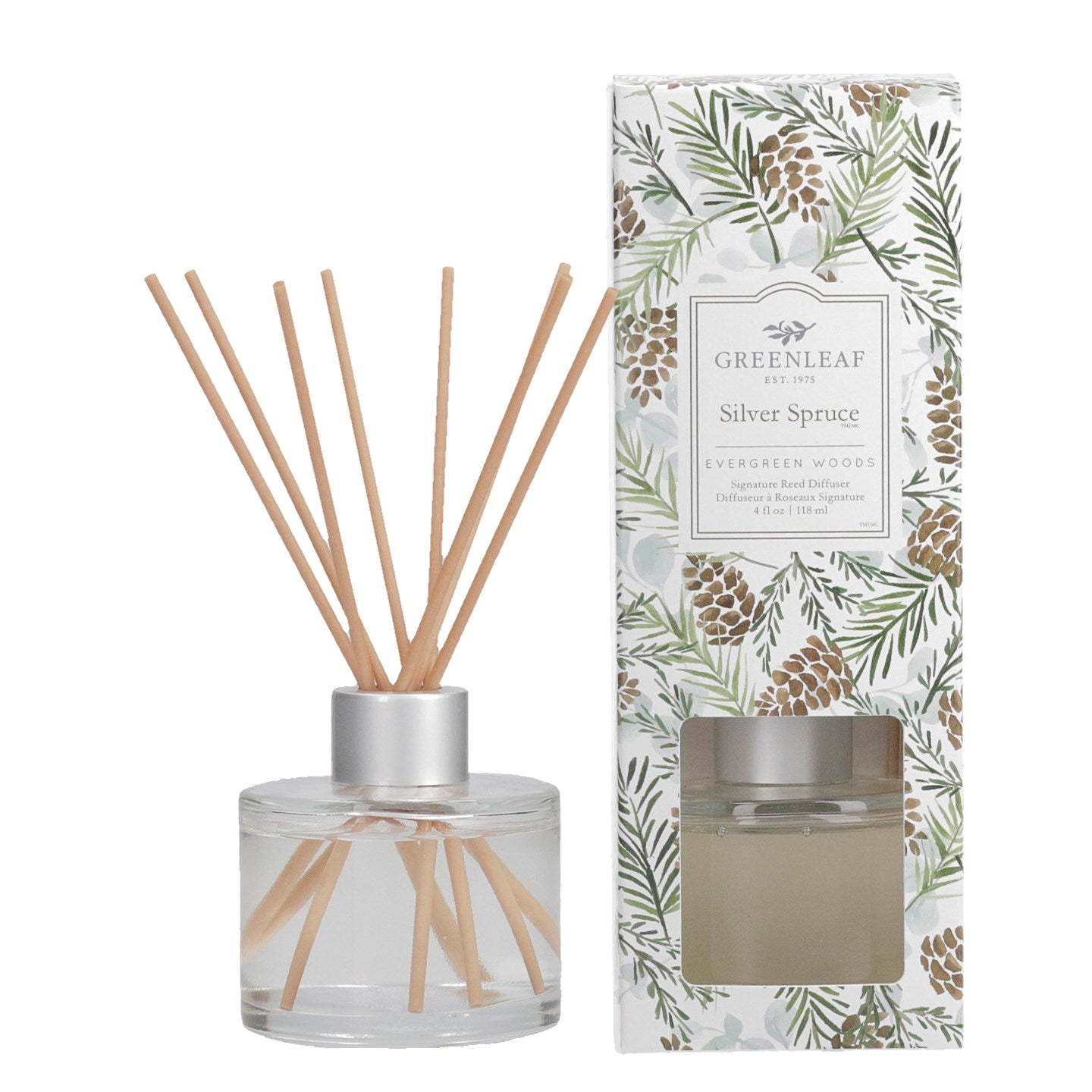 Silver Spruce Reed Diffuser