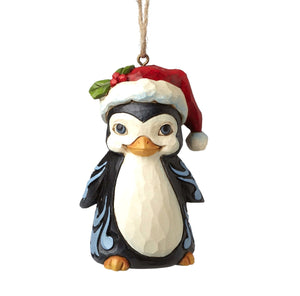 Christmas Penguin Mini Ornament