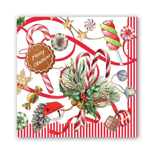 Michel Design Works Luncheon Napkins: Peppermint
