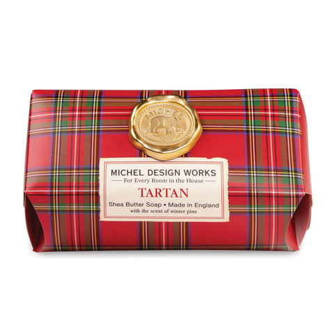 Michel Design Works Large Soap Bar: Tartan