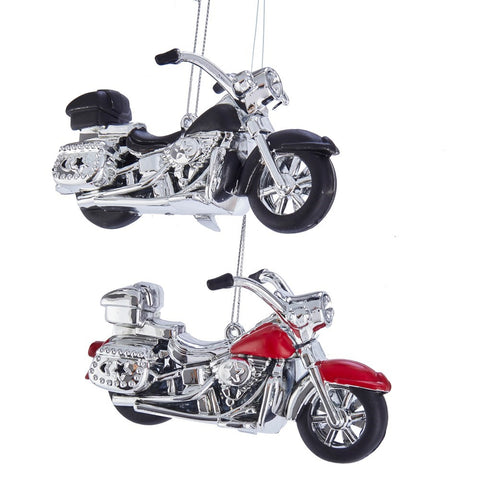 Assorted Motorcycle Ornaments, INDIVIDUALLY SOLD