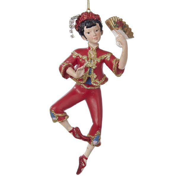 Chinese Dancer Ornament