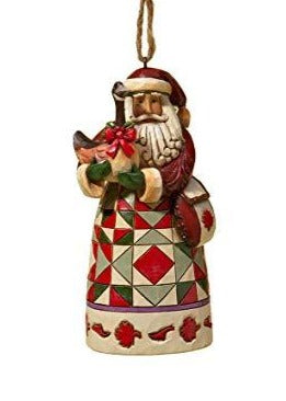 Canadian Santa Ornament