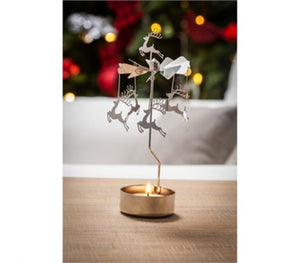 Tealight Candle Holder: Reindeer