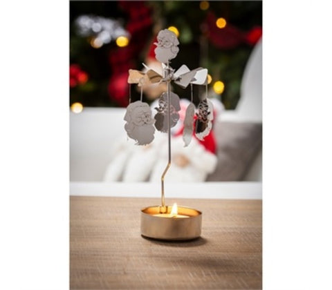 Tealight Candle Holder: Santa