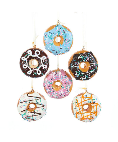 Assorted Donuts Ornaments, INDIVIDUALLY SOLD