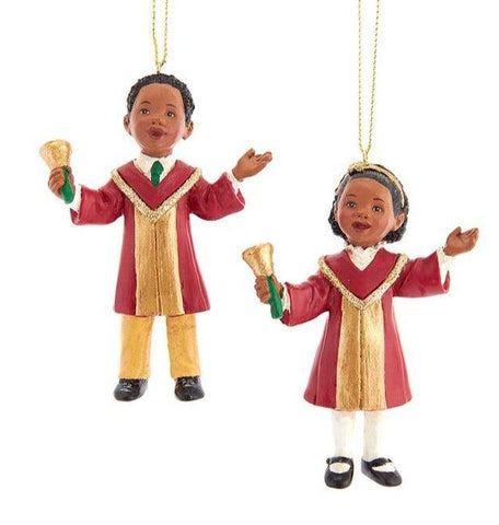 2 Assorted, African Choir Children Ornaments, INDIVIDUALLY SOLD