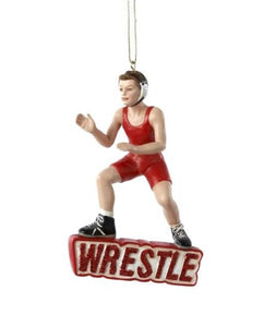 Wrestler Ornament
