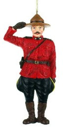 Canadian Mountie Ornament