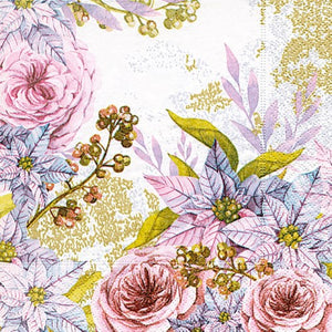 Dreamy Floral Luncheon Napkin
