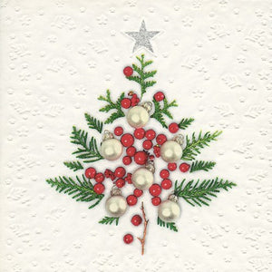Berry Tree Luncheon Napkin