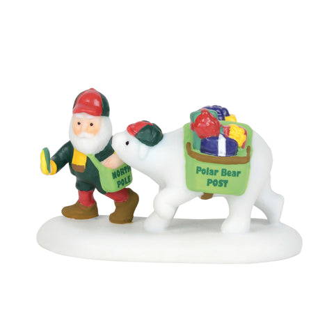 North Pole Village: Polar Bear Post