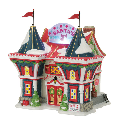 North Pole Village: Santa's North Pole Workshop