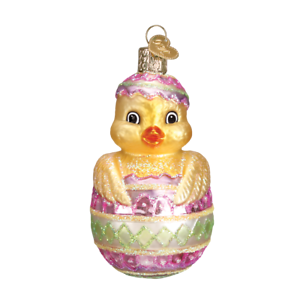 Easter Chick in Egg