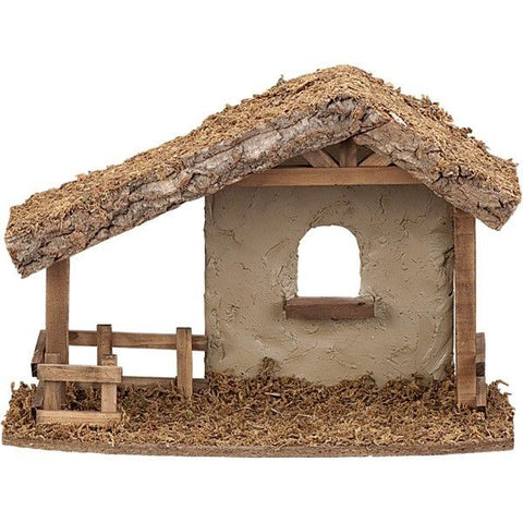 "Stucco Stable for 5"" Collection"