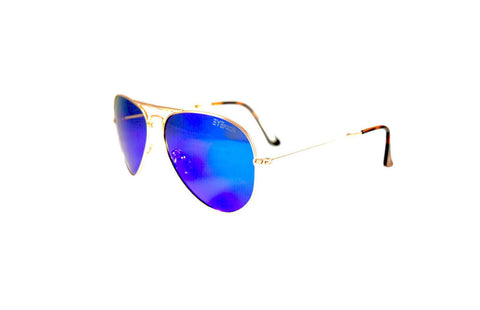 Ace - Gold Blue Flash Polarized