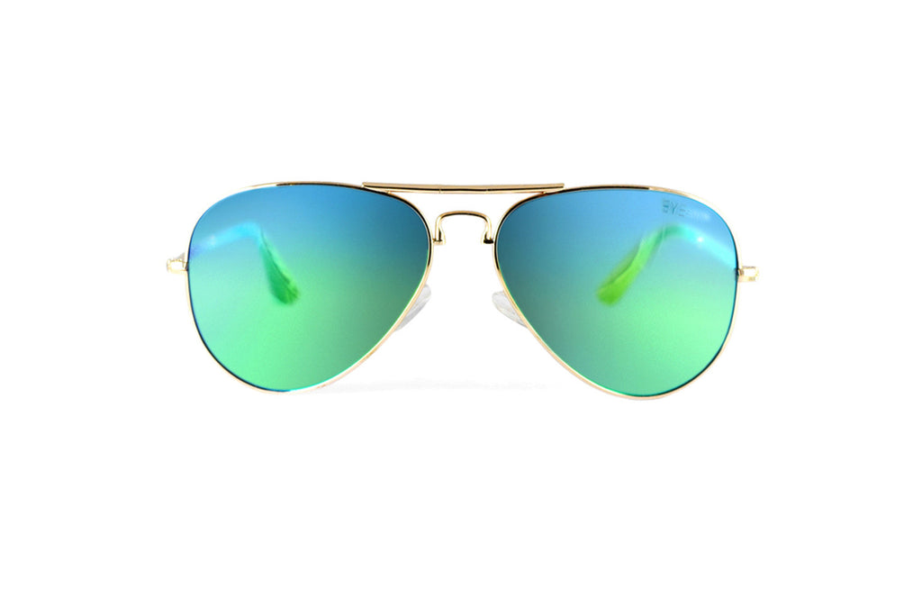 Ace - Gold Aqua Flash Polarized