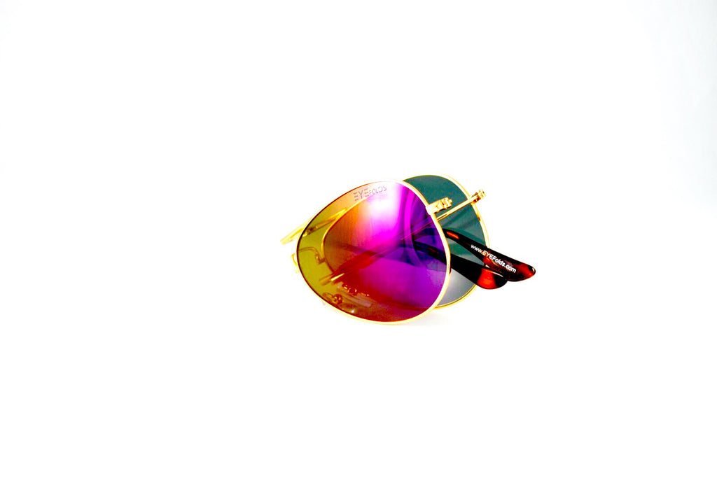 Ace - Gold Pink Flash Polarized