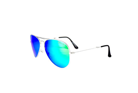 Ace - Silver Aqua Flash Polarized