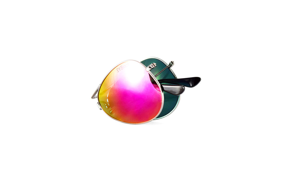 Ace - Silver Pink Flash Polarized