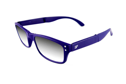 Banker-Navy Matte Photochromic Reader