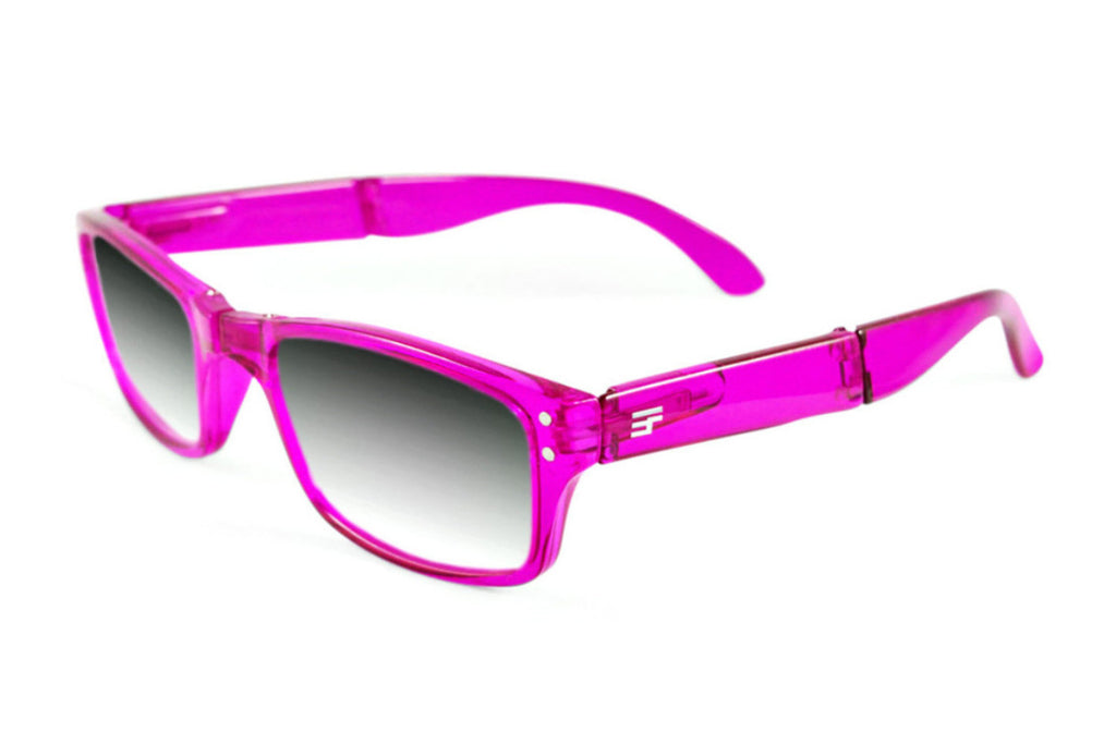 Banker-Raspberry Transluscent Gloss Photochromic Reader