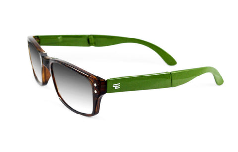 Banker-Tortoise Green Gloss Photochromic Reader
