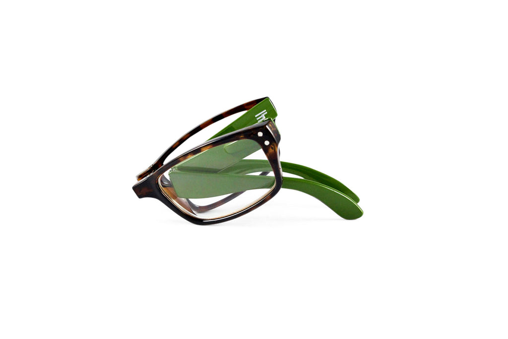 Banker-Tortoise Green Gloss Reader