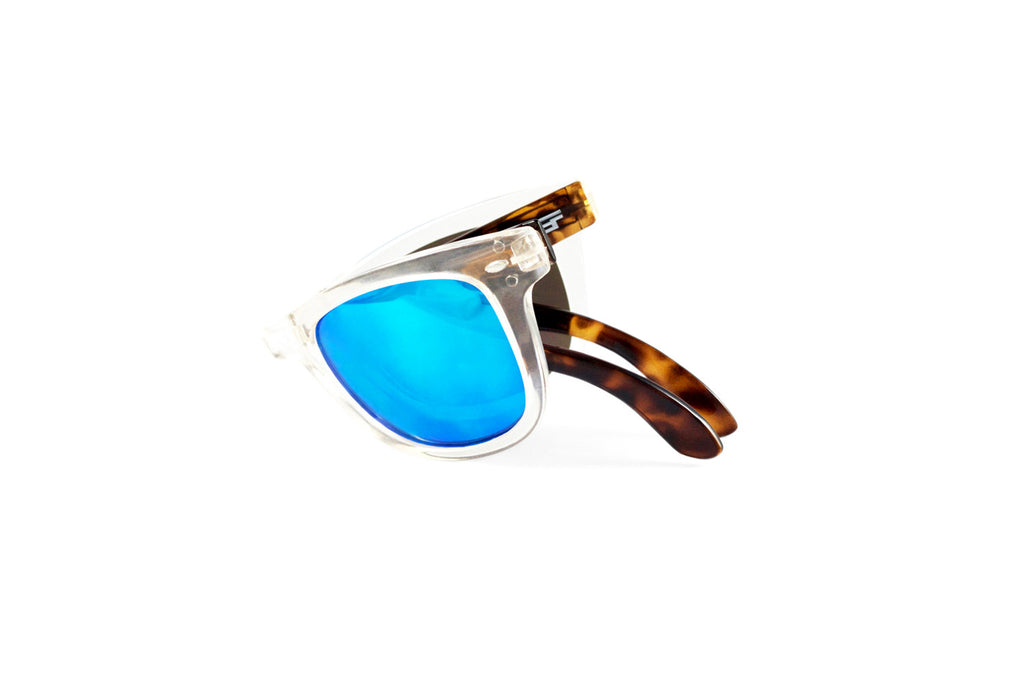 Beachcomber Clear Tort Blue Flash