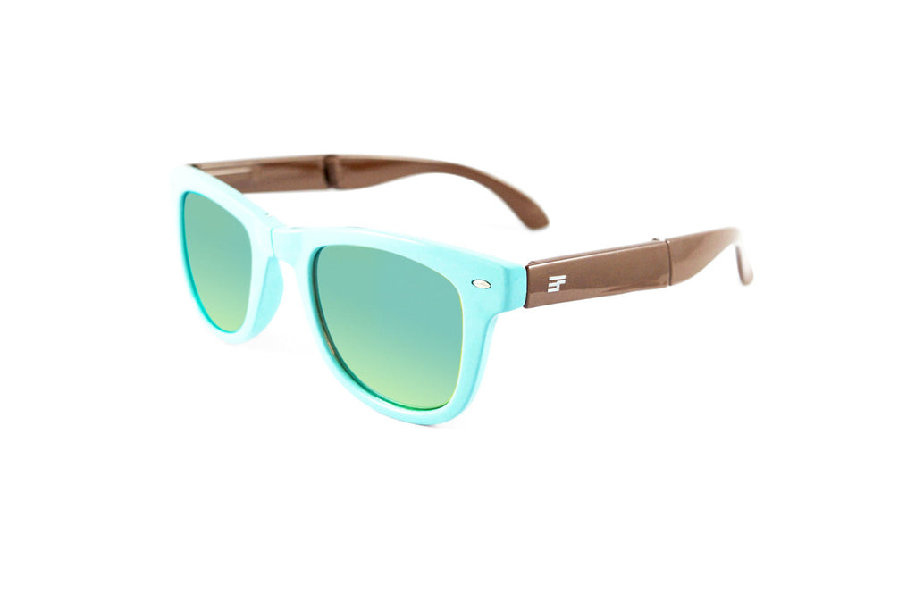 Beachcomber- PowderBlue Brown Flash