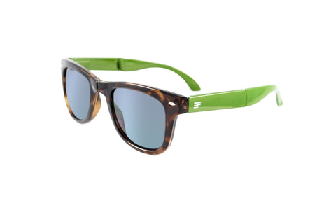 Beachcomber- Tortoise Green Bi Focal Sun Reader
