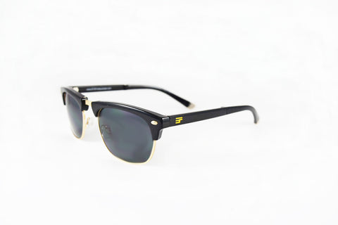 Country Club-Black Gloss Gold Bi Focal Sun Reader