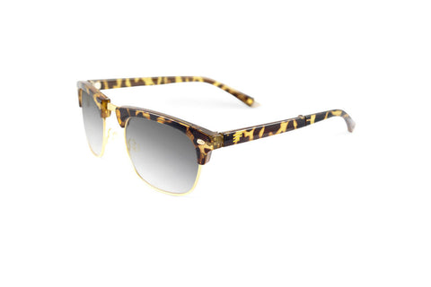 Country Club-Tortoise Gloss Gold Bi Focal Sun Reader