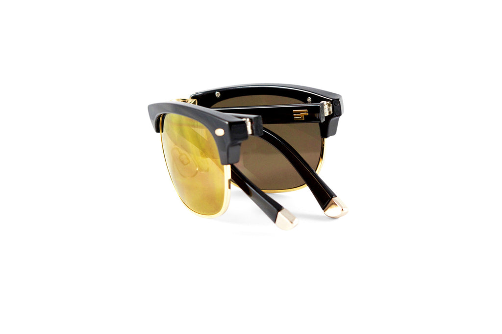 Country Club-Black Gloss Gold Flash