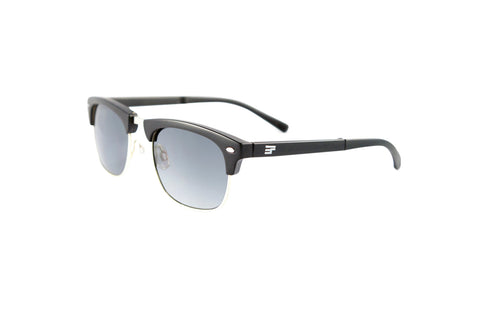 Country Club-Black Gloss Silver Bi Focal Sun Readers