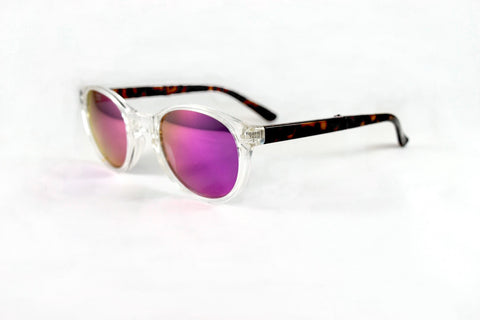 Hampton Clear Tortoise Pink Flash-Pre Order