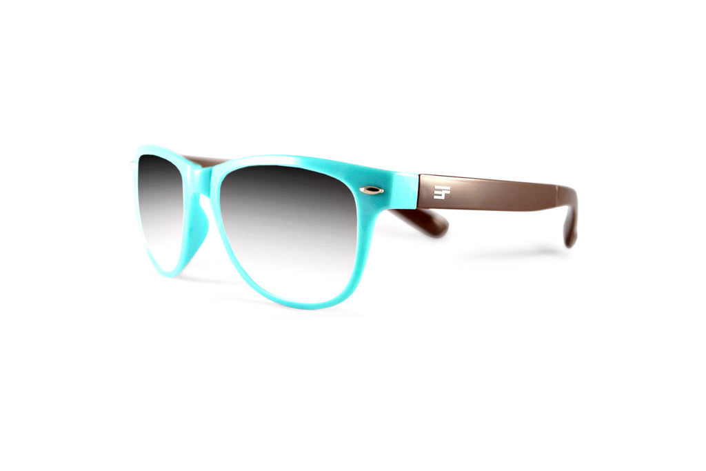 Winner- PowderBlue/Brown Gloss Sun