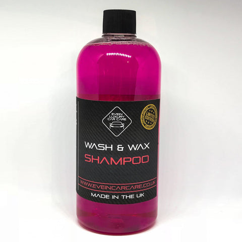 Wash & Wax Shampoo ( Limited Edition )