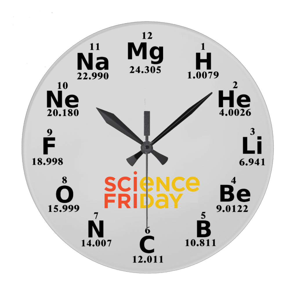Science Friday Periodic Wall Clock