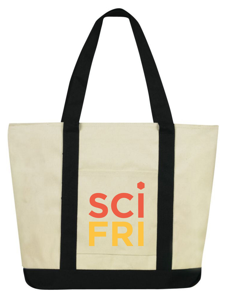Science Friday Canvas Tote Bag