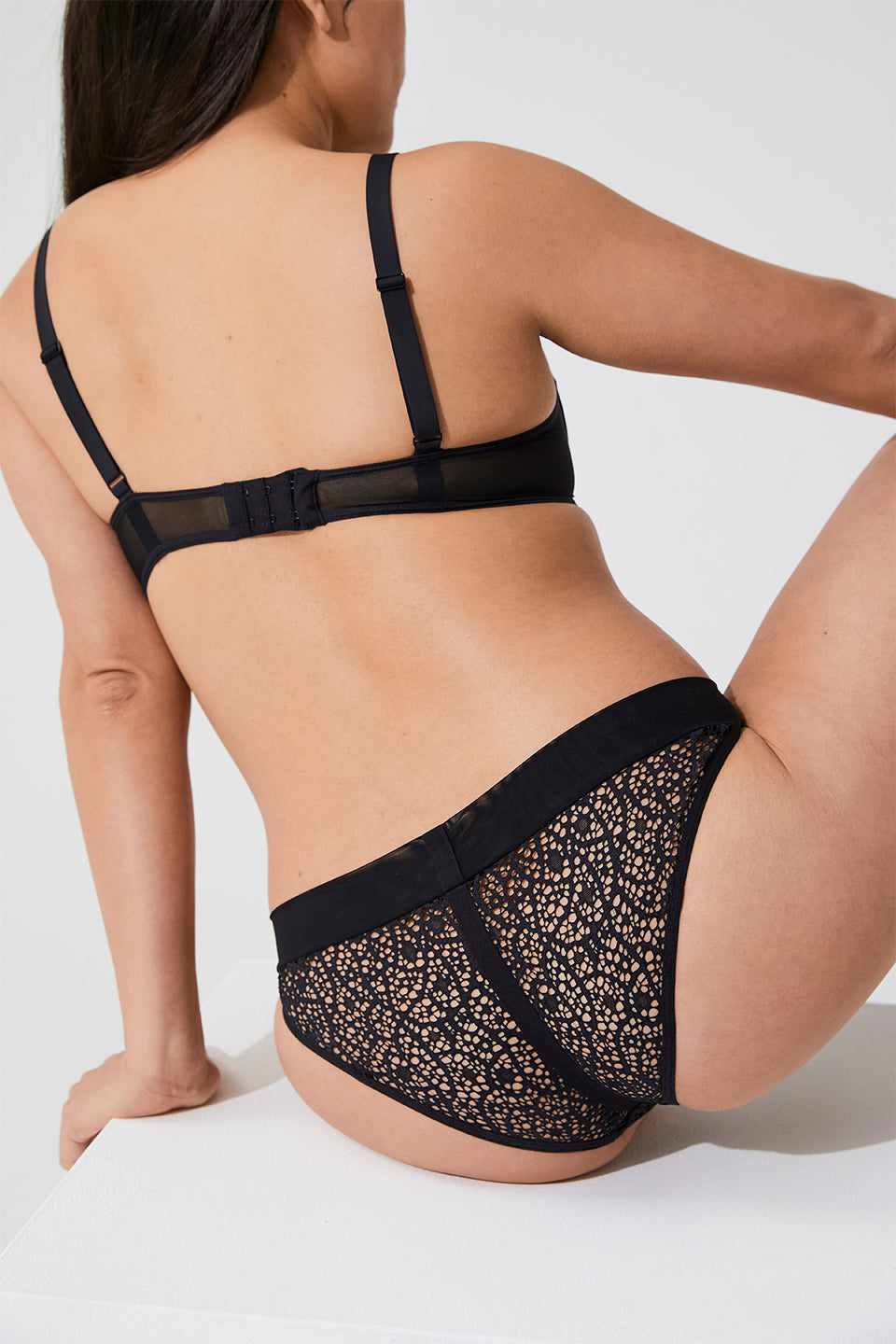 SAGAN LACE BRIEF