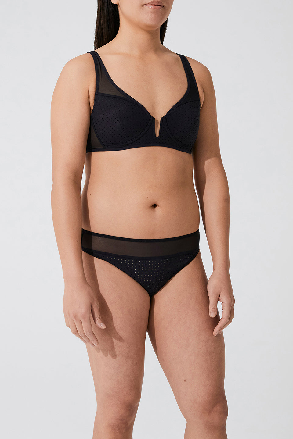 SOPHIE PERFORATED SPACER BRA