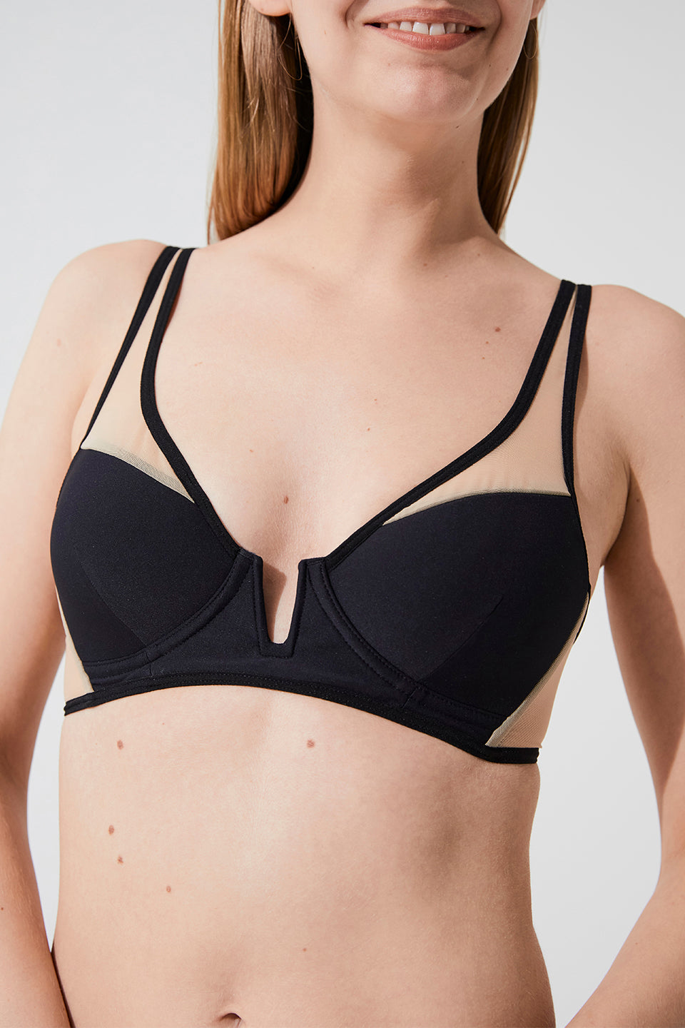 SOPHIE SHEER SPACER BRA