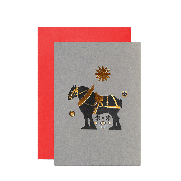 Lone Star Clydesdale card