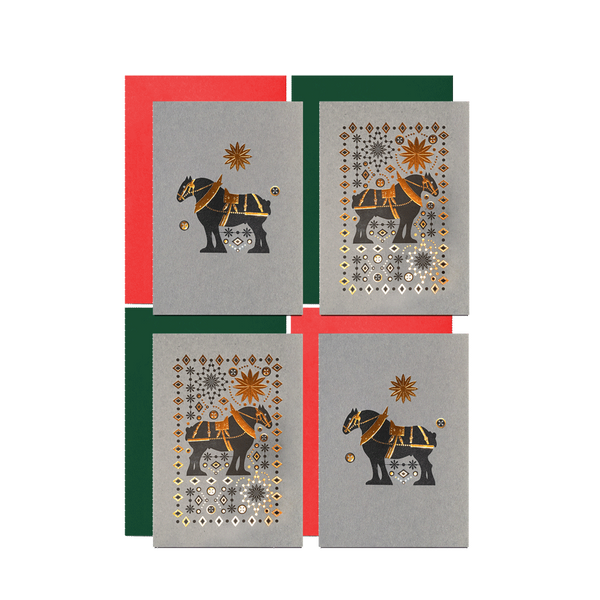 Clydesdale 4 card pack