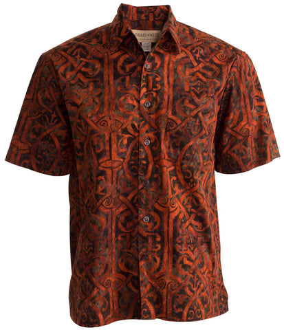johari west celtic dawn red leisure wear mens fishing shirts for the relaxed